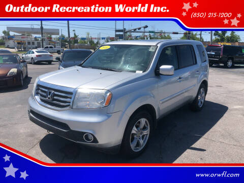 2014 Honda Pilot for sale at Outdoor Recreation World Inc. in Panama City FL
