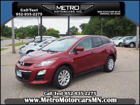 2012 Mazda CX-7 for sale at Metro Motorcars Inc in Hopkins MN