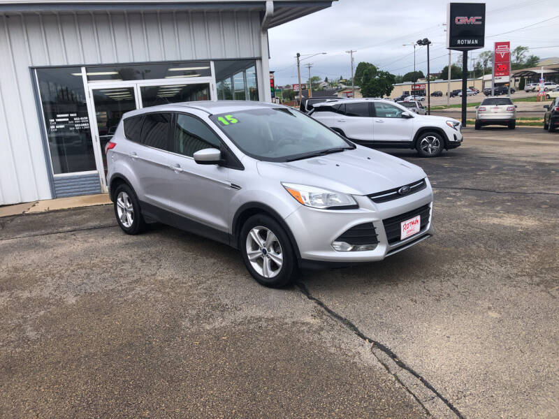 2015 Ford Escape for sale at ROTMAN MOTOR CO in Maquoketa IA