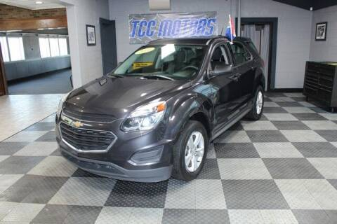 2016 Chevrolet Equinox for sale at TCC Motors in Farmington Hills MI