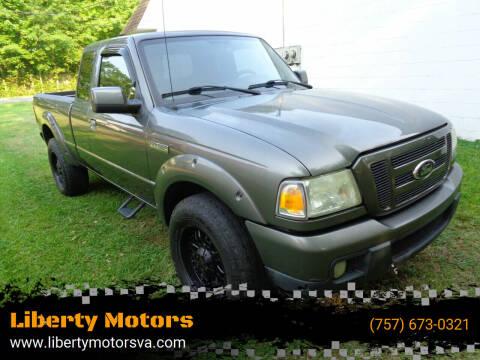 2006 Ford Ranger for sale at Liberty Motors in Chesapeake VA