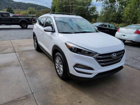 2016 Hyundai Tucson for sale at A - K Motors Inc. in Vandergrift PA