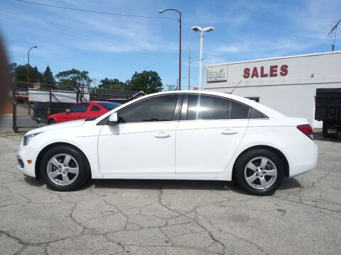 2015 Chevrolet Cruze for sale at Town & City Motors Inc. in Gary IN