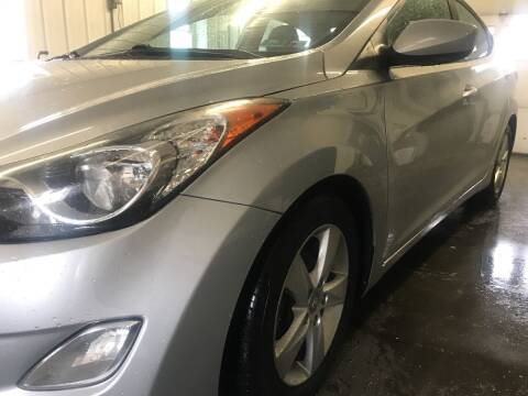 2013 Hyundai Elantra for sale at CESSNA MOTORS INC in Bedford PA