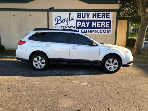 2011 Subaru Outback for sale at Boyle Buy Here Pay Here in Sumter SC