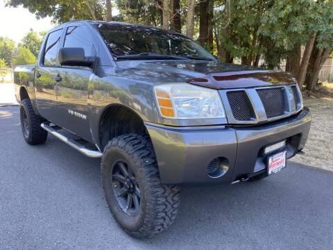 2006 Nissan Titan for sale at Salem Motorsports in Salem OR