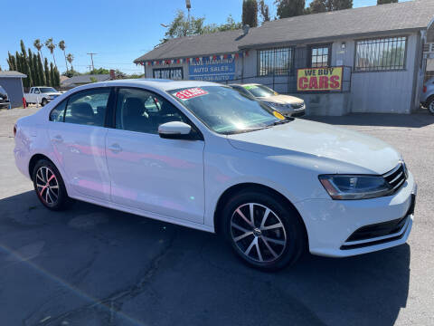 2017 Volkswagen Jetta for sale at Blue Diamond Auto Sales in Ceres CA