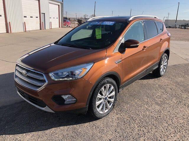 2017 Ford Escape for sale at Valley Auto Locators in Gering NE