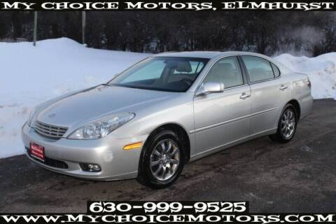 2004 Lexus ES 330 for sale at My Choice Motors Elmhurst in Elmhurst IL