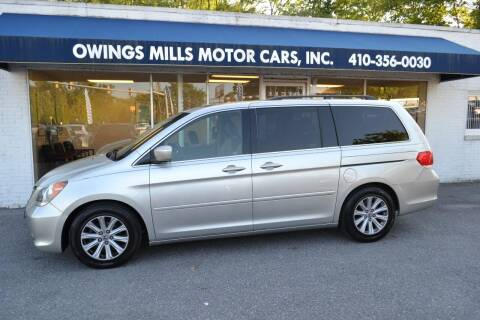 2009 Honda Odyssey for sale at Owings Mills Motor Cars in Owings Mills MD
