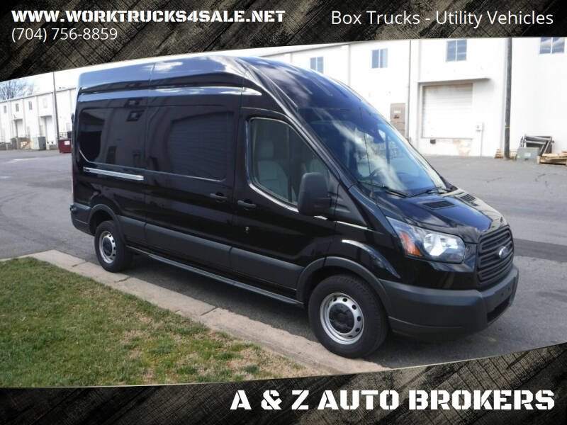 2016 Ford Transit Cargo for sale at A & Z AUTO BROKERS in Charlotte NC