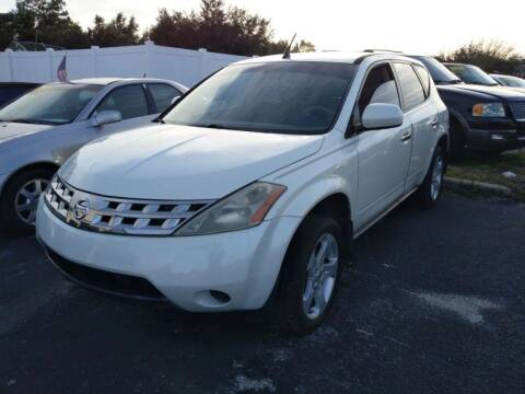 2005 Nissan Murano for sale at Tony's Auto Sales in Jacksonville FL