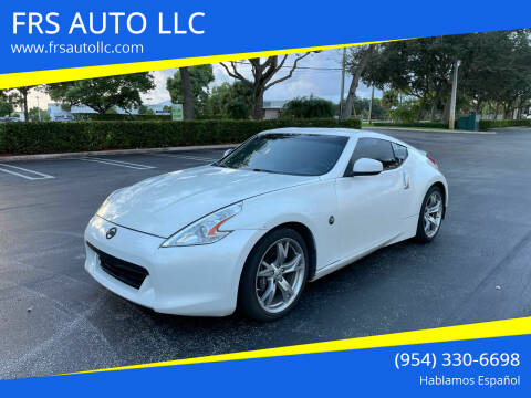 2011 Nissan 370Z for sale at FRS AUTO LLC in West Palm Beach FL