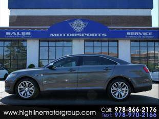 2015 Ford Taurus for sale at Highline Group Motorsports in Lowell MA