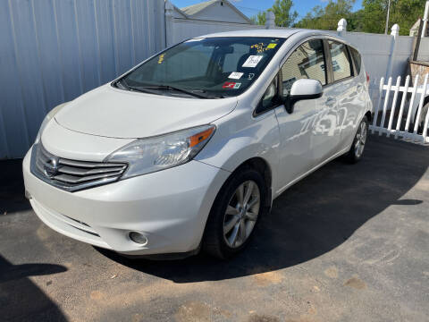 2014 Nissan Versa Note for sale at PUTNAM AUTO SALES INC in Marietta OH