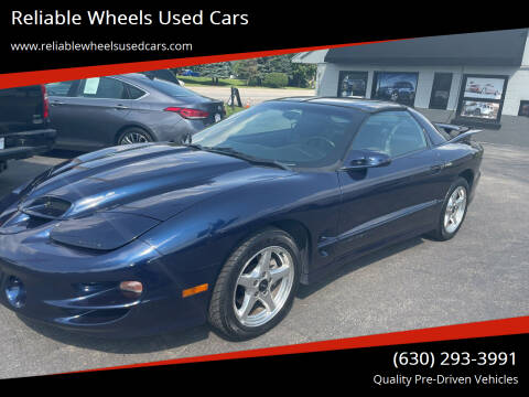 2001 Pontiac Firebird for sale at Reliable Wheels Used Cars in West Chicago IL