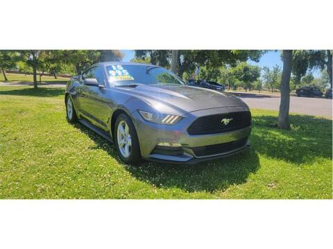 2015 Ford Mustang for sale at D & I Auto Sales in Modesto CA