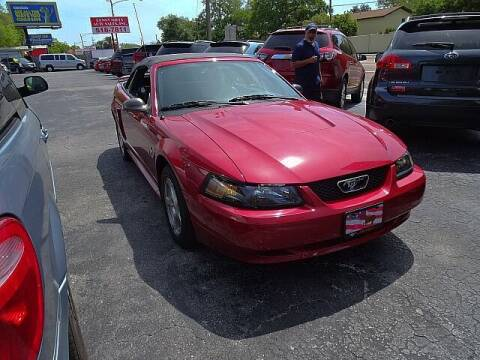 2003 Ford Mustang for sale at DONNY MILLS AUTO SALES in Largo FL