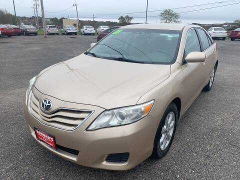 2011 Toyota Camry for sale at Carmans Used Cars & Trucks in Jackson OH