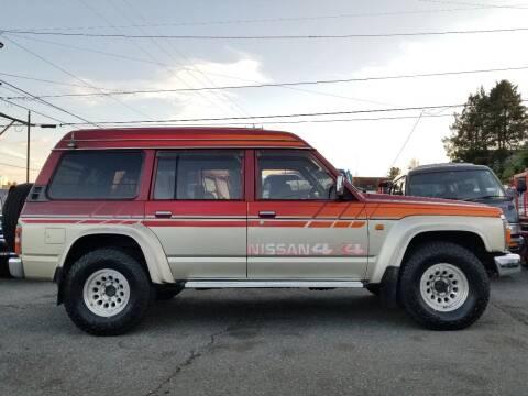 1991 Nissan Safari Patrol 4X4 Diesel TD42 for sale at JDM Car & Motorcycle LLC in Seattle WA