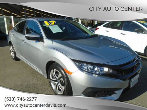 2017 Honda Civic for sale at City Auto Center in Davis CA