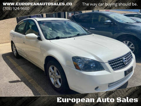 2005 Nissan Altima for sale at European Auto Sales in Bridgeview IL