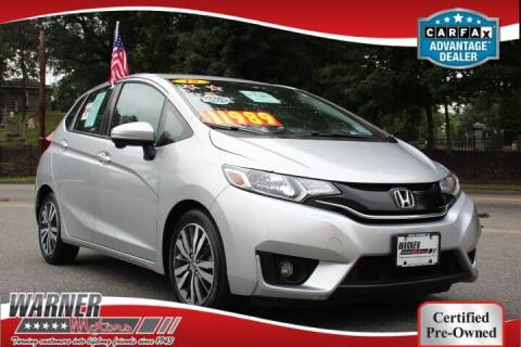2015 Honda Fit for sale at Warner Motors in East Orange NJ