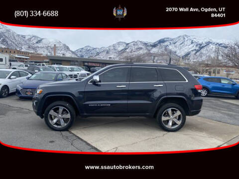 2015 Jeep Grand Cherokee for sale at S S Auto Brokers in Ogden UT
