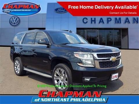 2015 Chevrolet Tahoe for sale at CHAPMAN FORD NORTHEAST PHILADELPHIA in Philadelphia PA