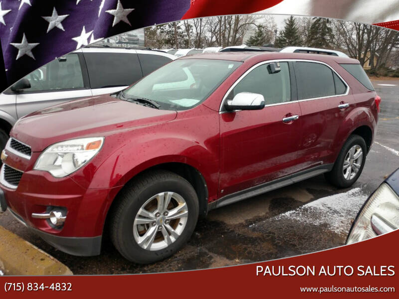 2010 Chevrolet Equinox for sale at Paulson Auto Sales in Chippewa Falls WI