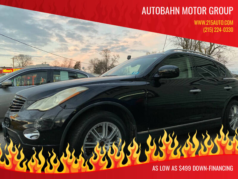 2008 Infiniti EX35 for sale at Autobahn Motor Group in Willow Grove PA