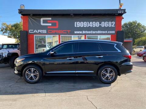 2019 Infiniti QX60 for sale at Cars Direct in Ontario CA