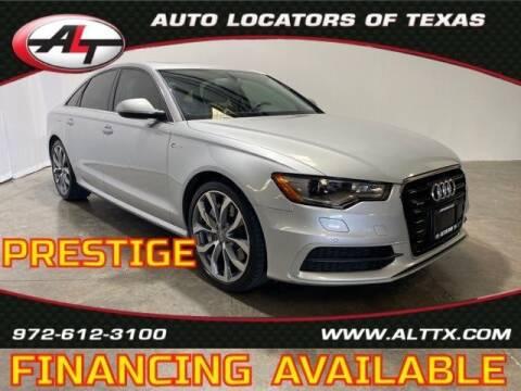 2013 Audi A6 for sale at AUTO LOCATORS OF TEXAS in Plano TX