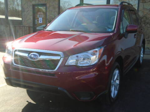 2016 Subaru Forester for sale at Rogos Auto Sales in Brockway PA