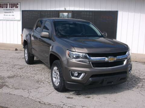 2015 Chevrolet Colorado for sale at AUTO TOPIC in Gainesville TX