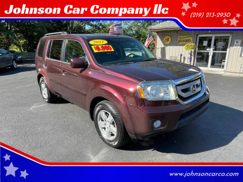 2011 Honda Pilot for sale at Johnson Car Company llc in Crown Point IN