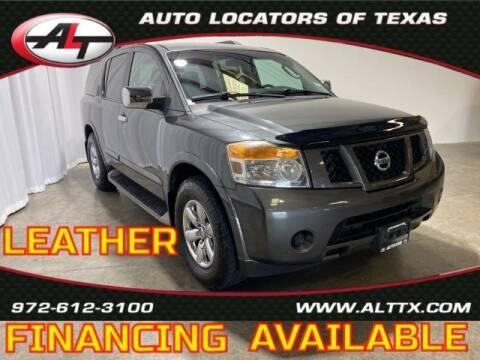 2012 Nissan Armada for sale at AUTO LOCATORS OF TEXAS in Plano TX