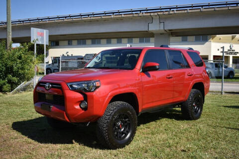 2020 Toyota 4Runner for sale at ELITE MOTOR CARS OF MIAMI in Miami FL