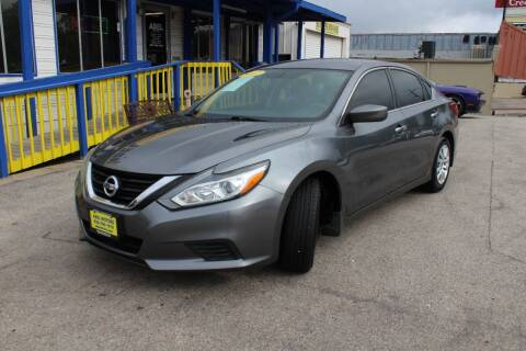 2017 Nissan Altima for sale at Abel Motors, Inc. in Conroe TX