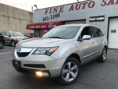 2011 Acura MDX for sale at Fine Auto Sales in Cudahy WI