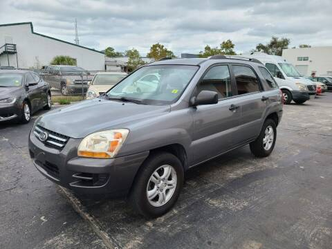 2007 Kia Sportage for sale at CAR-RIGHT AUTO SALES INC in Naples FL
