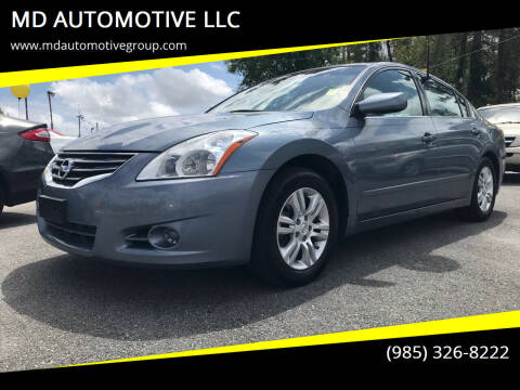 2011 Nissan Altima for sale at MD AUTOMOTIVE LLC in Slidell LA