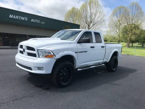 2012 RAM Ram Pickup 1500 for sale at Martin's Auto in London KY