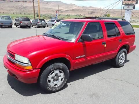 2004 Chevrolet Blazer for sale at Super Sport Motors LLC in Carson City NV