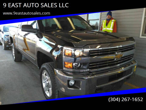2016 Chevrolet Silverado 2500HD for sale at 9 EAST AUTO SALES LLC in Martinsburg WV