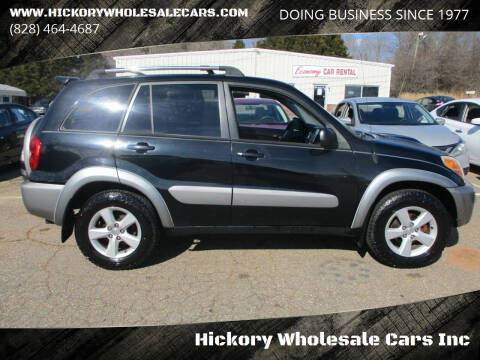 2004 Toyota RAV4 for sale at Hickory Wholesale Cars Inc in Newton NC