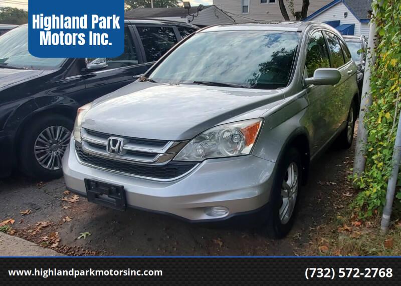 2011 Honda CR-V for sale at Highland Park Motors Inc. in Highland Park NJ