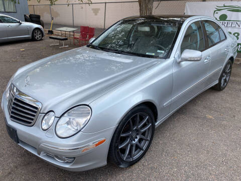 2007 Mercedes-Benz E-Class for sale at GO GREEN MOTORS in Lakewood CO