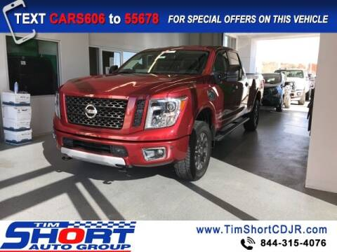 2019 Nissan Titan XD for sale at Tim Short Chrysler in Morehead KY