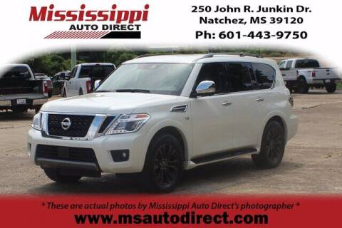 2020 Nissan Armada for sale at Auto Group South - Mississippi Auto Direct in Natchez MS